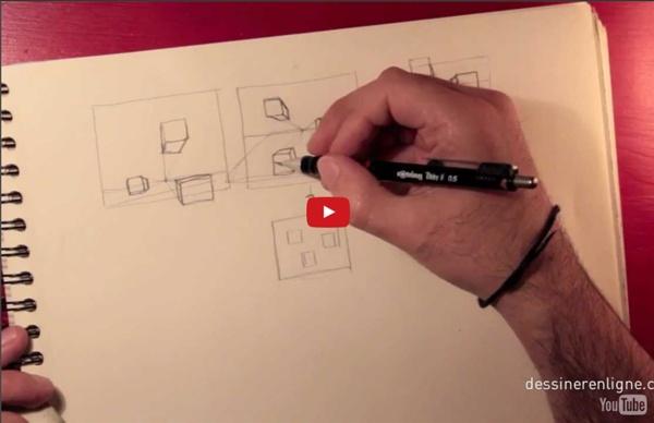 Introduction à la perspective - Dessinerenligne.com