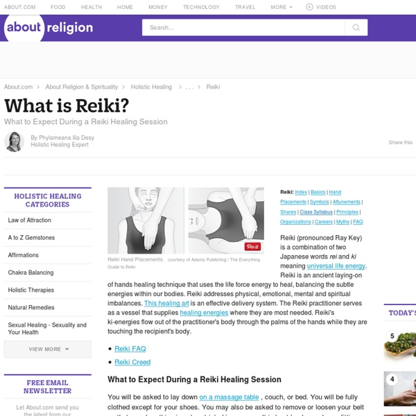 Reiki Healing - Introduction to Reiki - What to Expect During a Reiki Healing Session