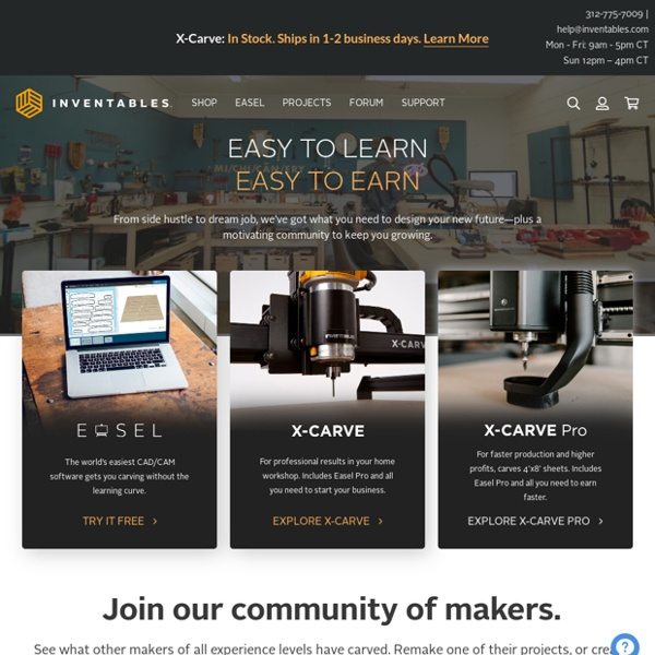 Inventables: The Hardware Store for Designers