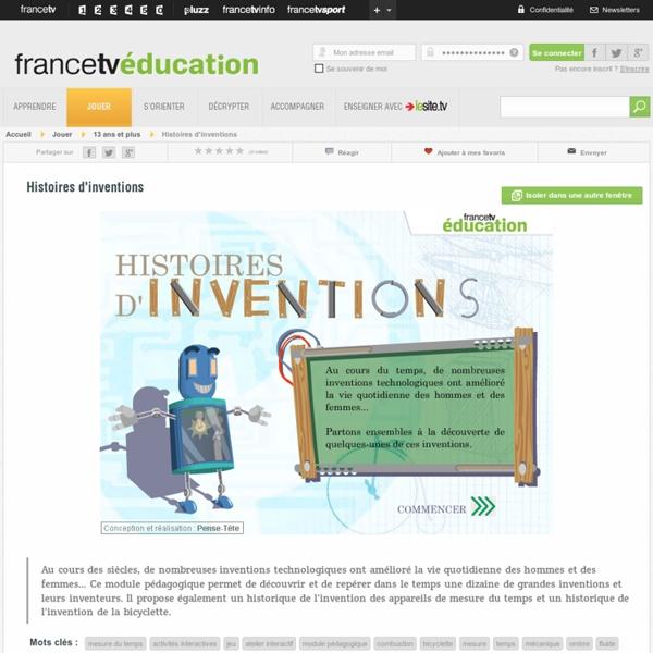 Découvrir une dizaine de grandes inventions et leurs inventeurs - f