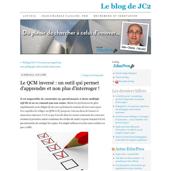 Le QCM inversé : un outil qui permet d'apprendre et non plus d'interroger !