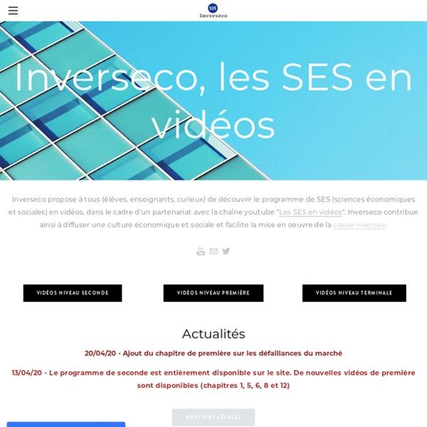 Inverseco - Les SES en vidéos - Accueil