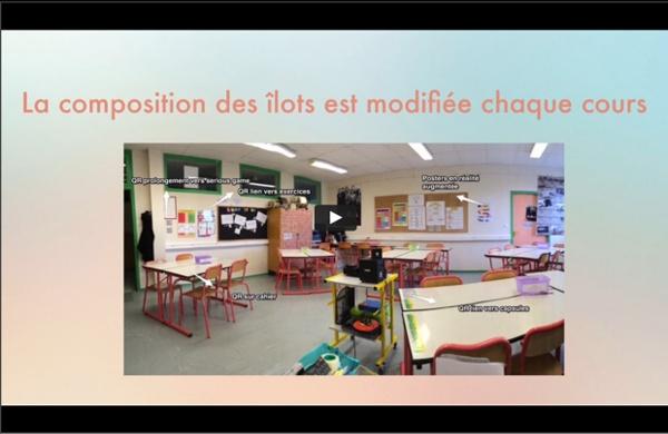 La classe de Marie Soulié