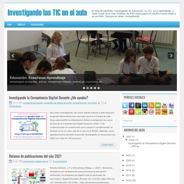 Investigando las TIC en el aula.