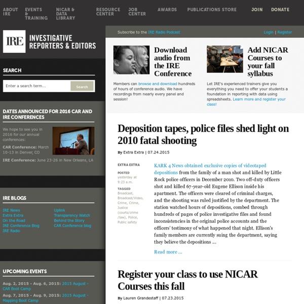 Investigative Reporters and Editors