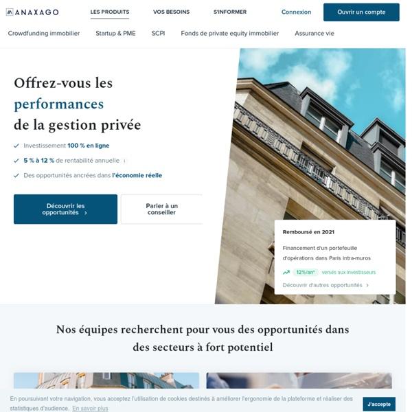 AnaxAgo - Financement Participatif