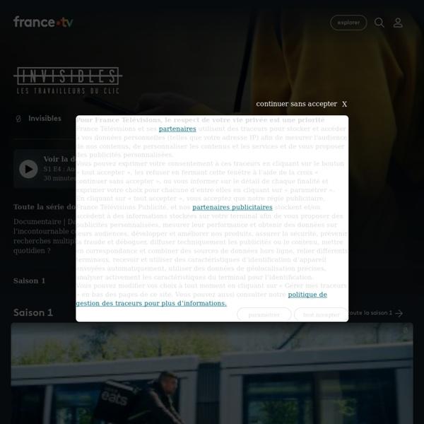 Invisibles - Replay et vidéos en streaming - France tv