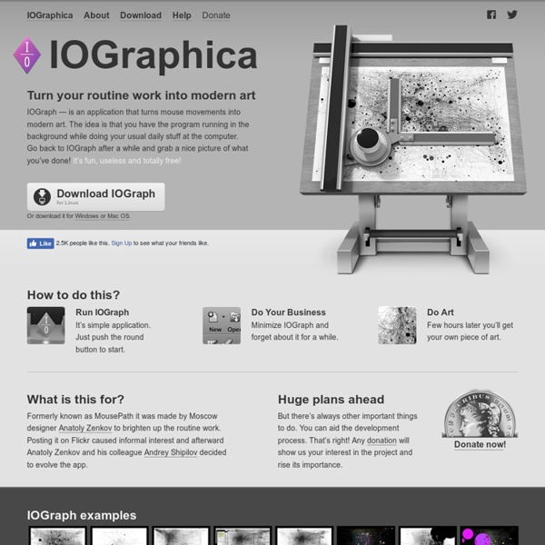 IOGraphica — MousePath's new home