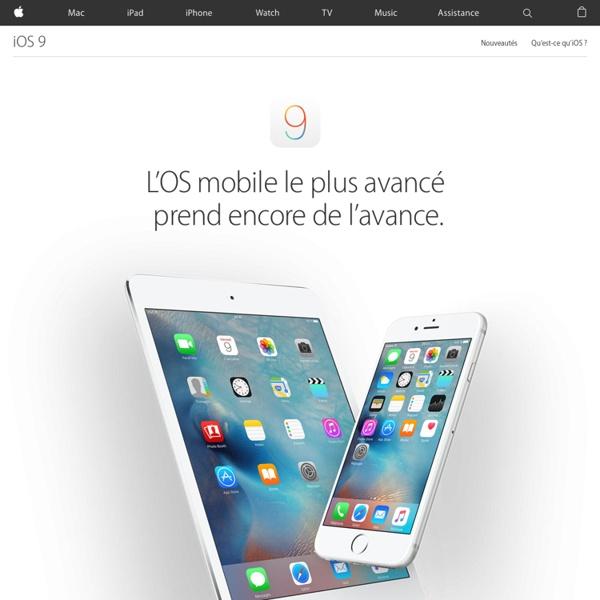 iOS5 - Plus de 200nouvelles fonctionnalités pour iPad, iPhone et iPod touch.