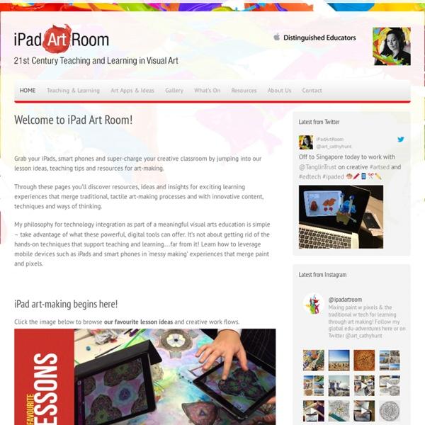iPad Art Room
