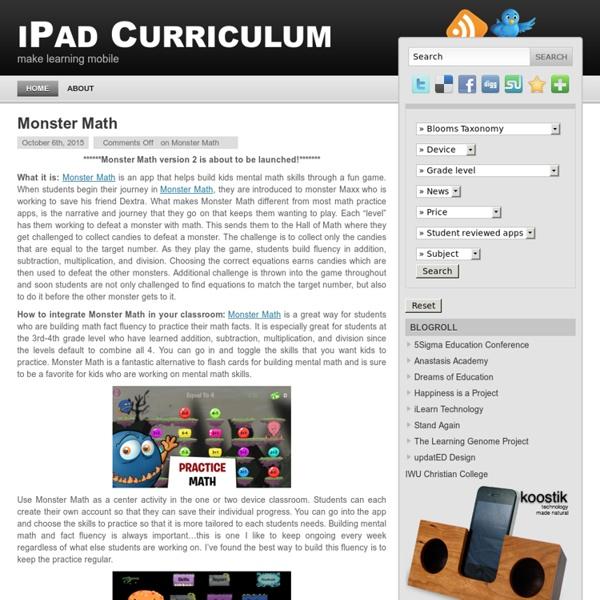 iPad Curriculum