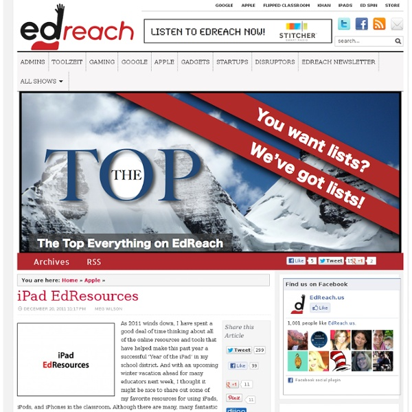 iPad EdResources