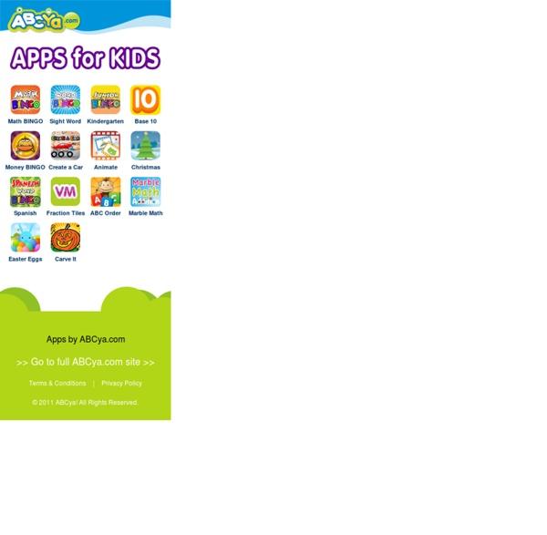iPad Games - ABCya!
