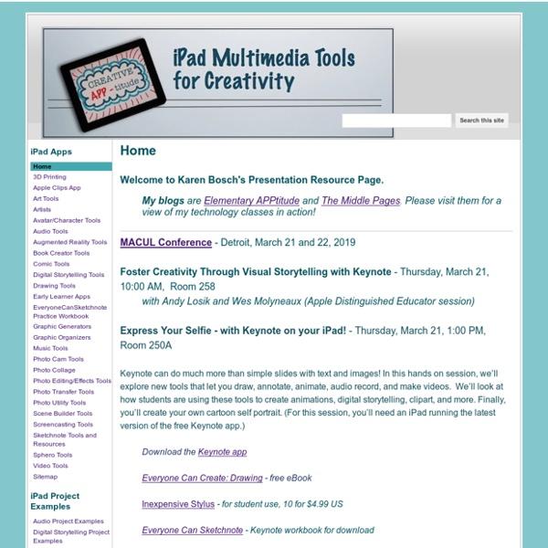 iPad Multimedia Tools