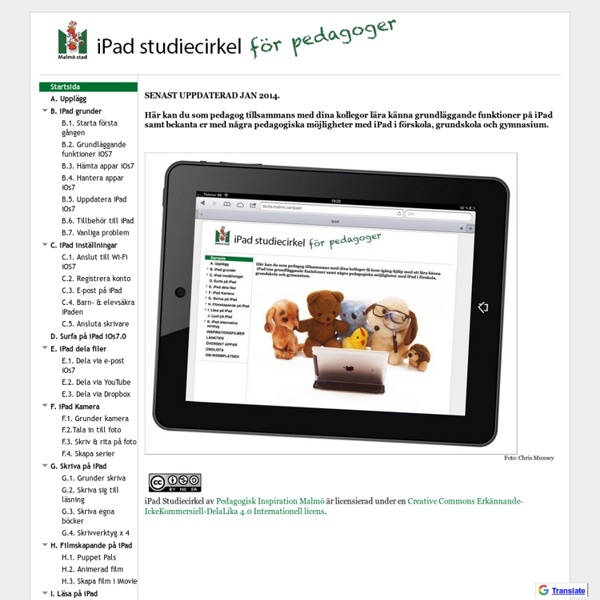 iPad Studiecirkel