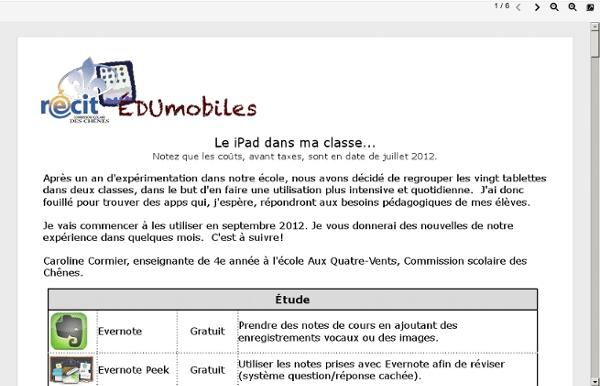 iPadEnClasseCaroline