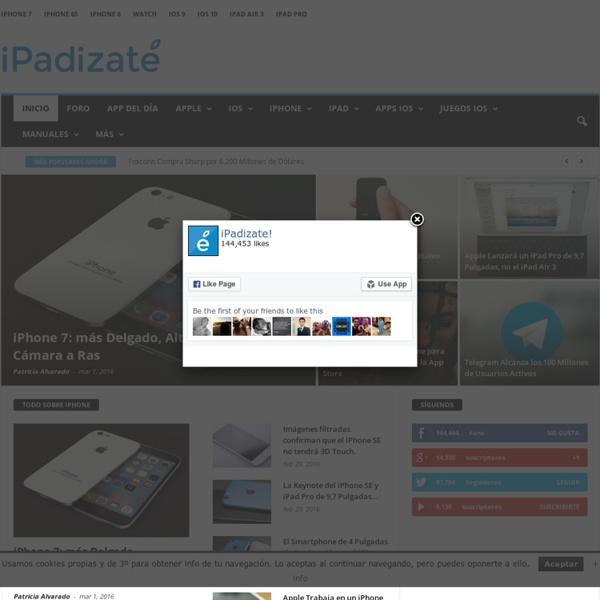 iPadizate - iPad, iPhone y Tecnología □