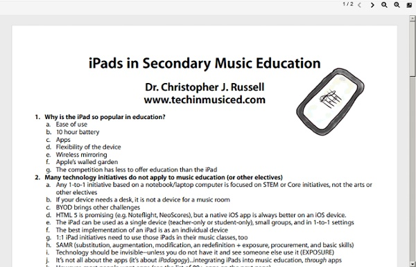 Techinmusiced.files.wordpress.com/2011/11/ipads-in-secondary-music-education.pdf