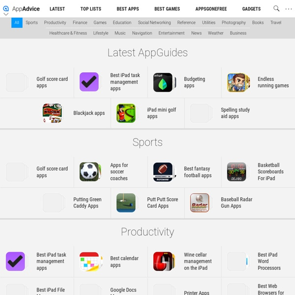 iPhone/iPad AppGuides by AppAdvice