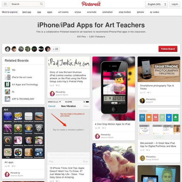 iPhone/iPad Apps for Art Teachers