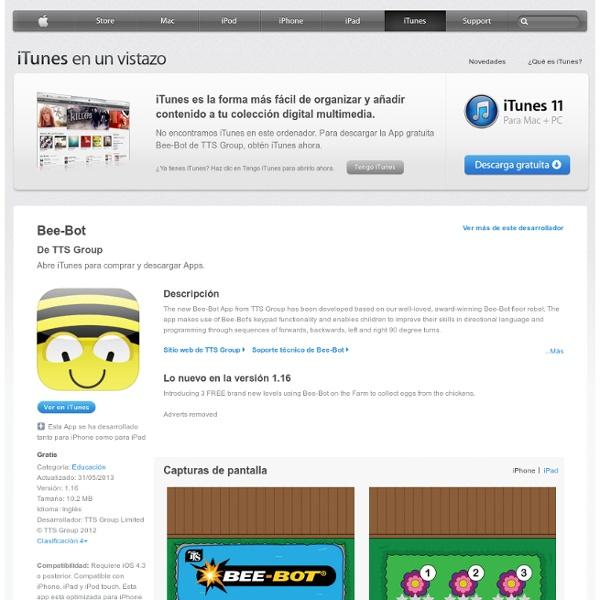 Bee-Bot para iPhone, iPad y iPod touch en la App Store de iTunes