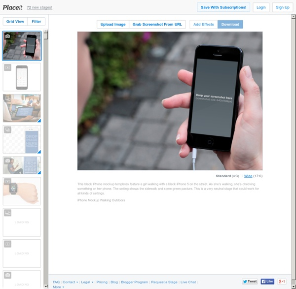 Placeit - Generate Product Screenshots in Realistic Environments
