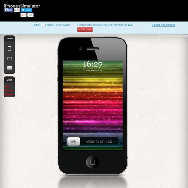 test iphone website
