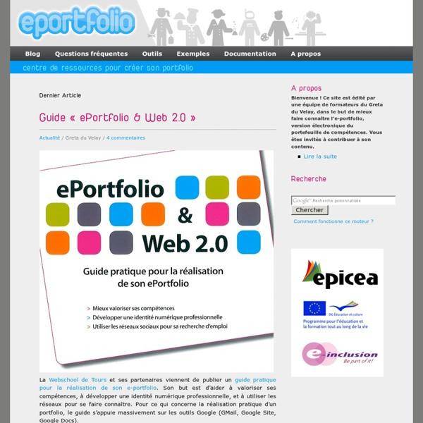 E portfolio & web 2.0