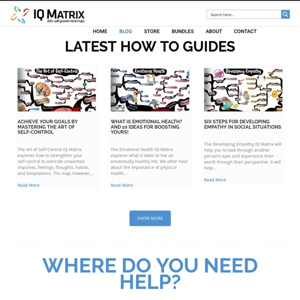 IQ Matrix Blog: Accelerating Your Human Potential