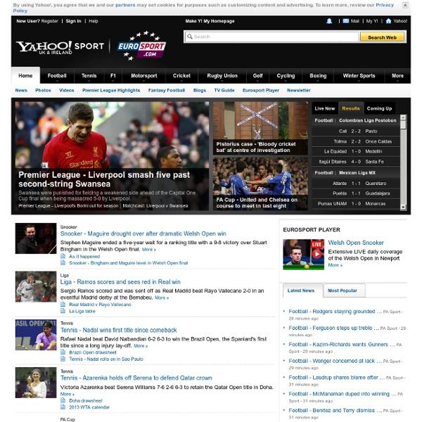 Home » Yahoo Uk Ireland Eurosport Sports News Live Scores Results