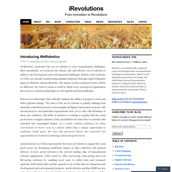 iRevolution BLOG