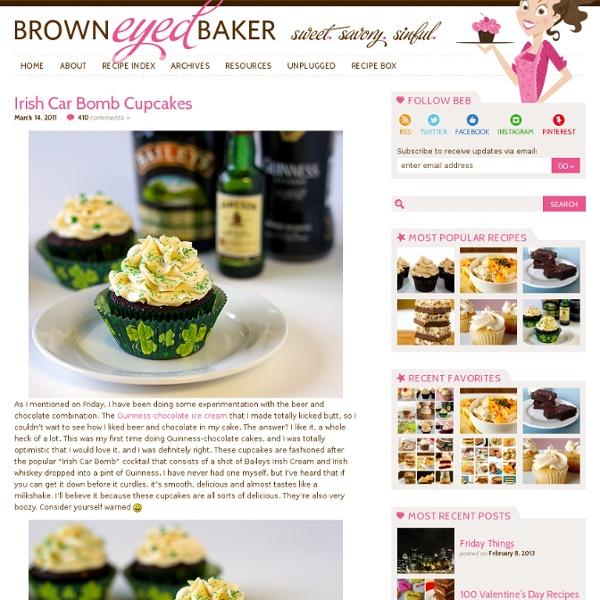 Irish Car Bomb Cupcakes Recipe