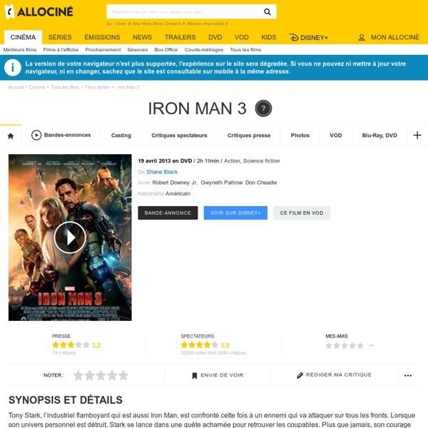 Iron Man 3 - film 2013