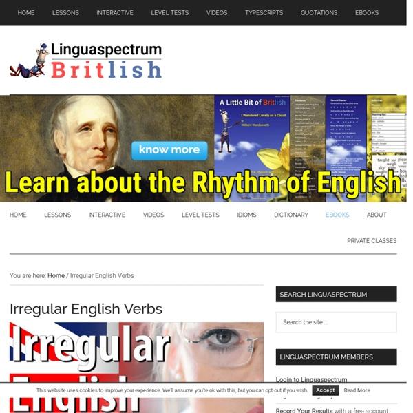362 Irregular English Verbs