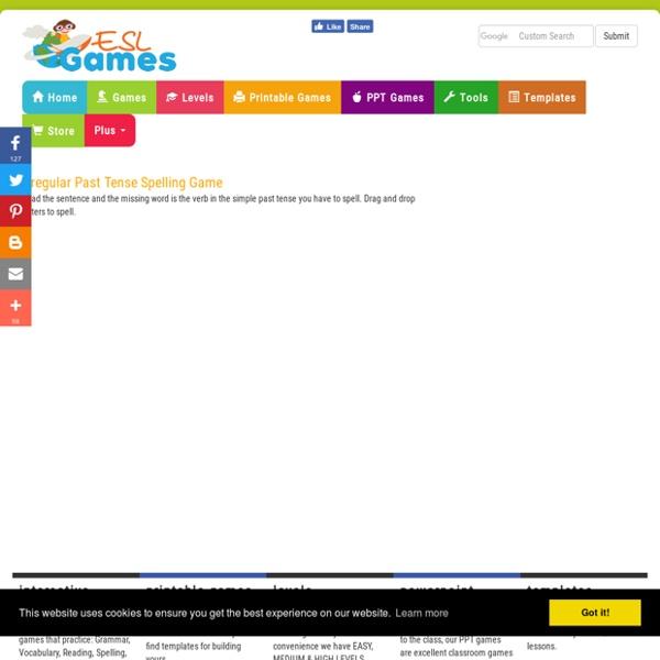 Game (irregular verbs - time limit)
