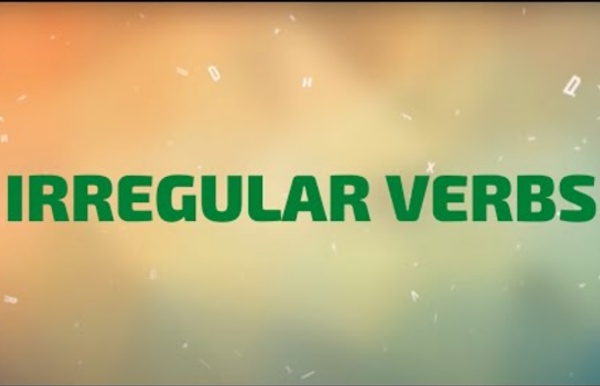 Learn All Irregular Verbs in One Song