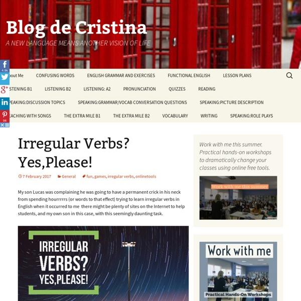 Irregular Verbs? Yes,Please!