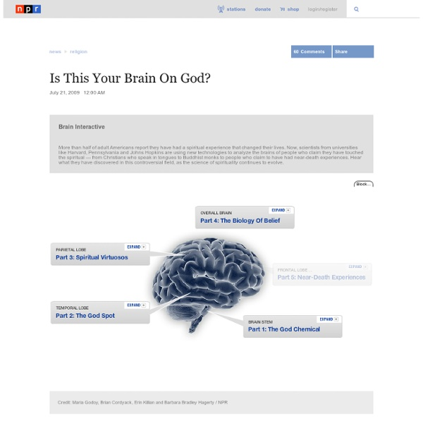 Is This Your Brain On God?