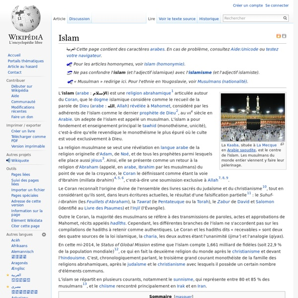 Symbole Islam
