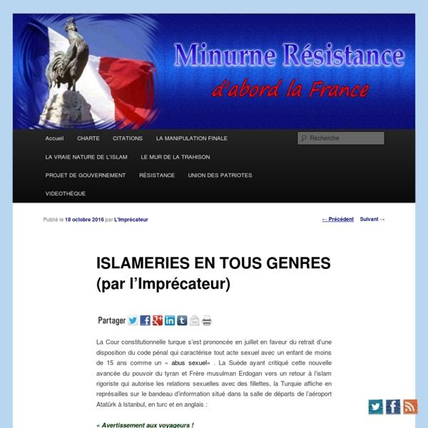 ISLAMERIES EN TOUS GENRES