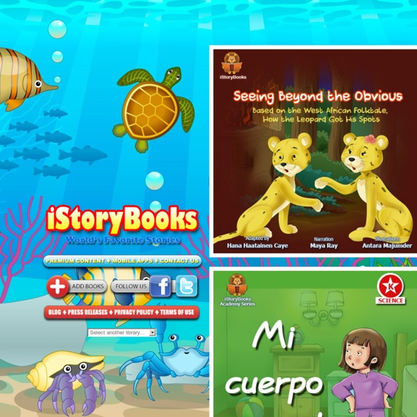 iStoryBooks - A growing library of Children's Books