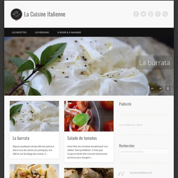 Les recettes italiennes authentiques.