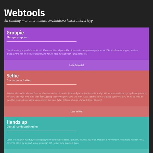 ITG Webtools 1.0