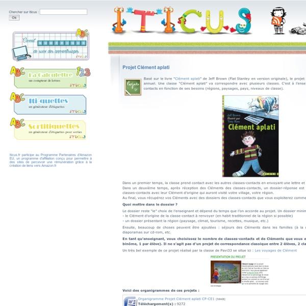 Iticus : docs et affichages pour la classe