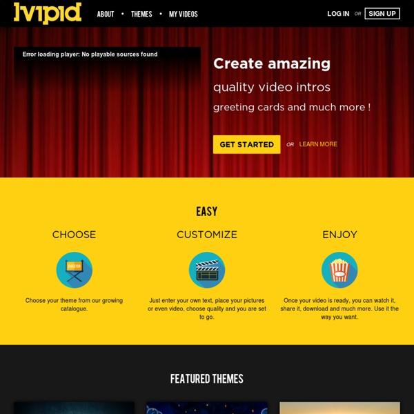 Vipid - Custom Videos, Greeting Cards
