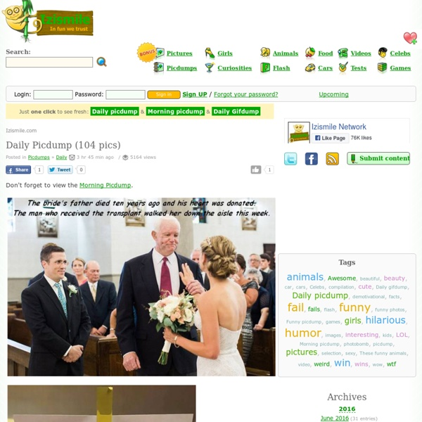 Izismile Pictures Videos Games And More Pearltrees We found that izismile.com is a pretty popular website with good traffic (approximately over 437k visitors monthly). izismile pictures videos games and more pearltrees