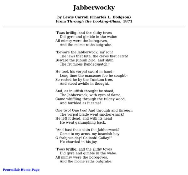Jabberwocky Pearltrees