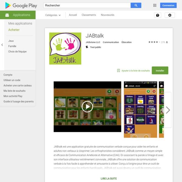 JABtalk - Applications Android sur GooglePlay - Iceweasel