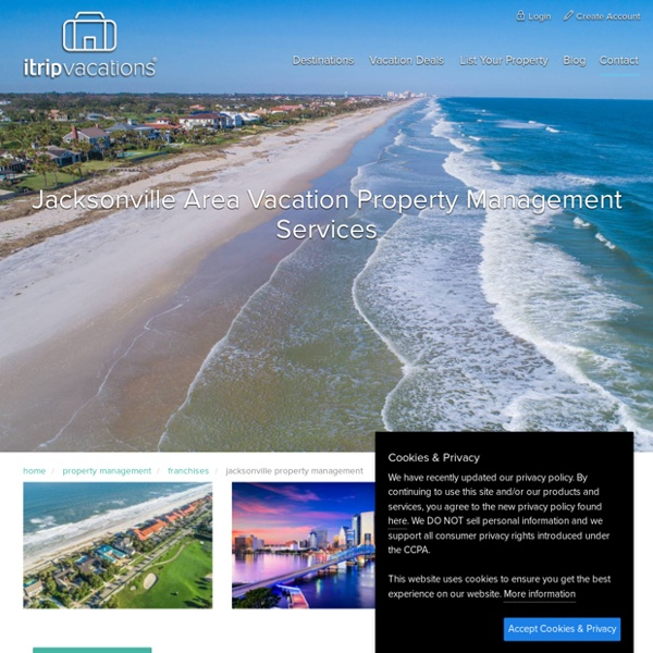 Jacksonville Vacation Home Rentals
