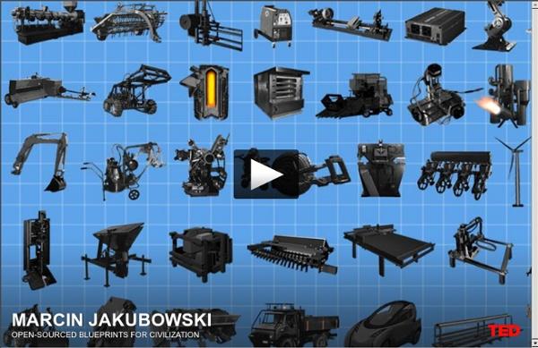 Marcin Jakubowski: des plans détaillés en accès libre pour la civilisation